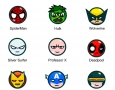 Marvel emoticons