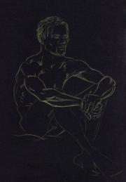 Aborigine - life drawing