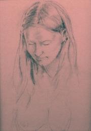 sketch sad face