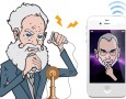 Alexander Graham Bell and Steve Jobs