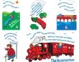 Kirkcaldy Childrens library illustrations
